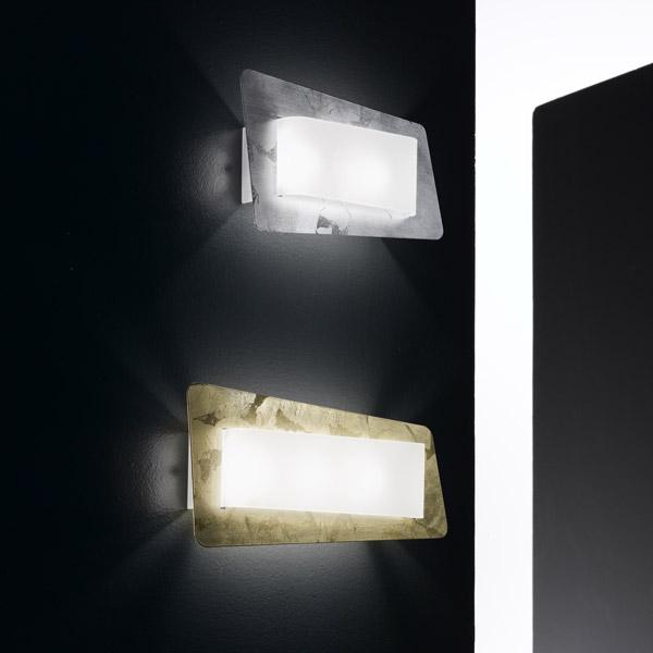 Lampada da parete Wry