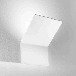 lampada da parete bianca, negozio lampadari Progetto Luce