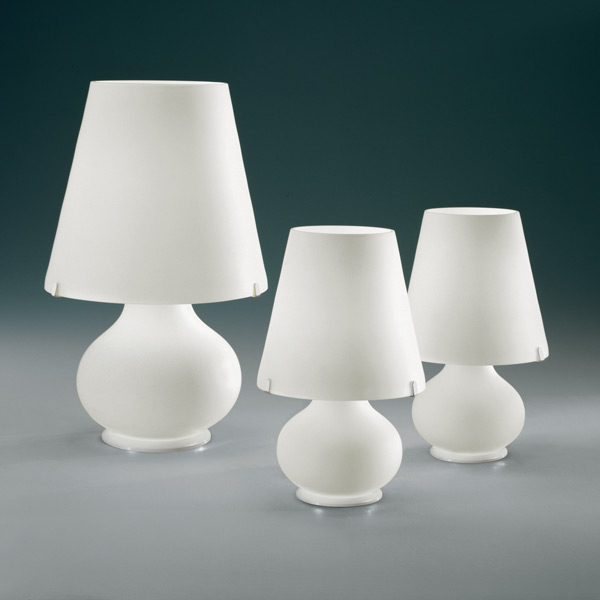 white table lamp, lamps shop Progetto Luce