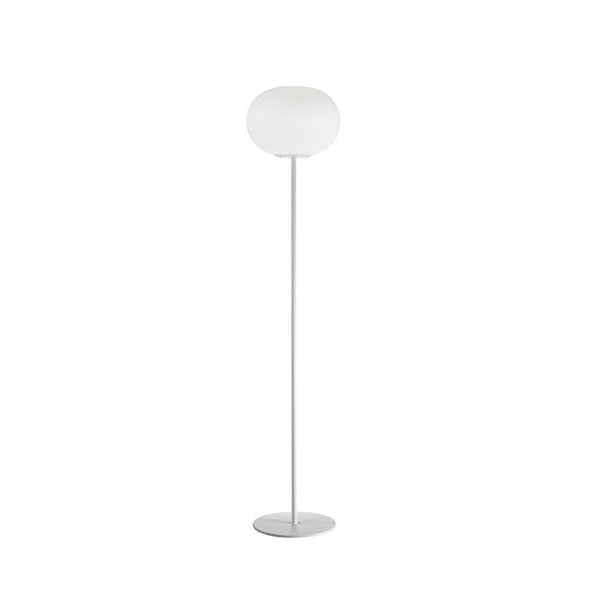 white globe floor lamp, lamps shop Progetto Luce
