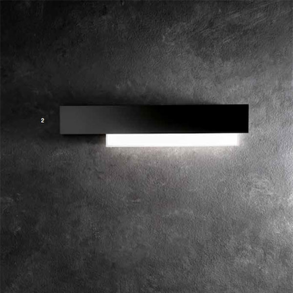 black wall lamp, lamps shop Progetto Luce