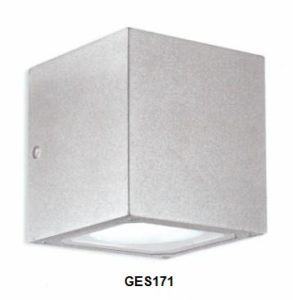 Gea Luce outdoor grey wall lamp, lamps shop Progetto Luce