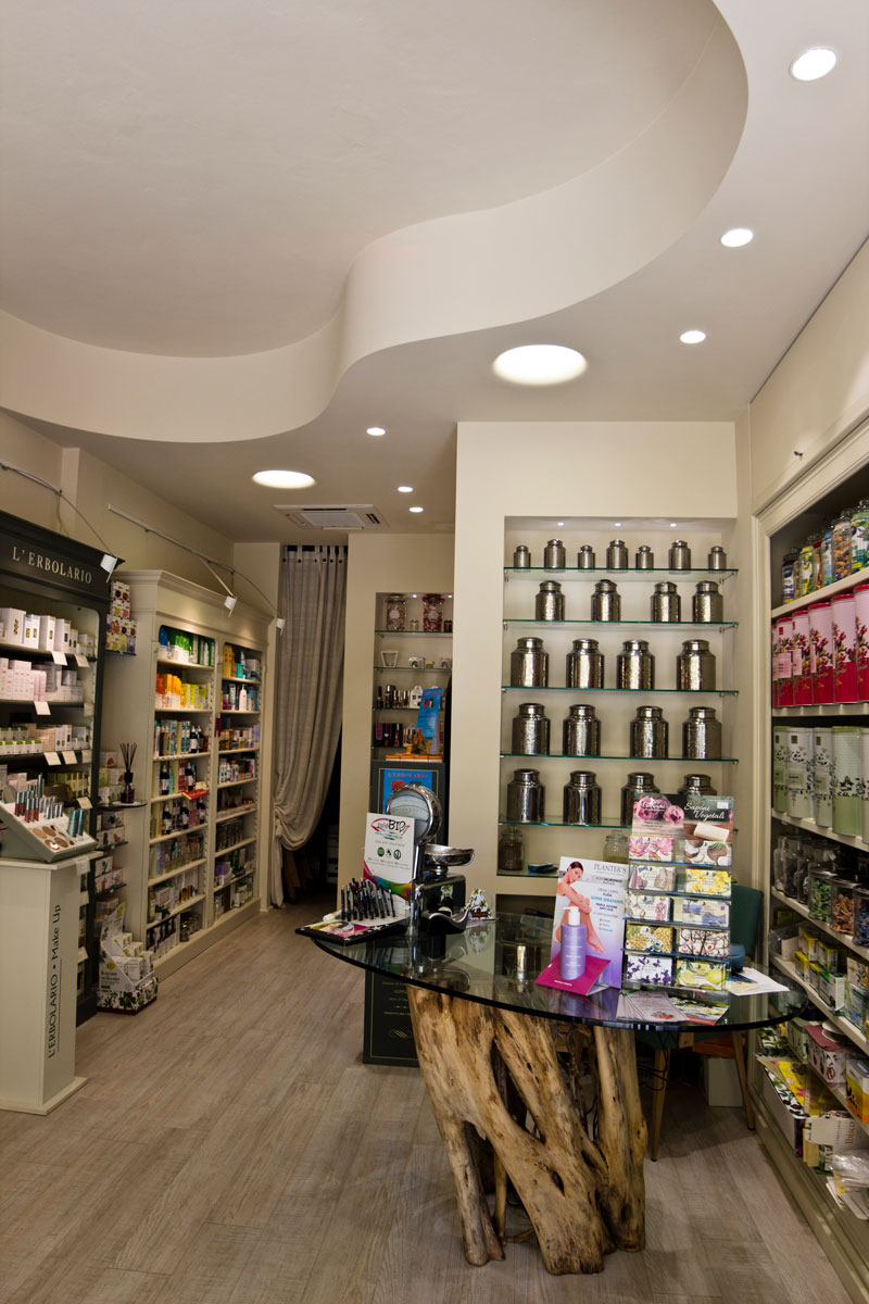 progetto lighting design Erbavoglio, negozio lampadari Progetto Luce