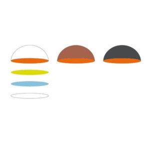 variabili colori patinature interne lampade Toscot, negozio lampadari Progetto Luce