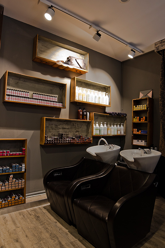 Progetto Illuminotecnico barber shop New Deal-2