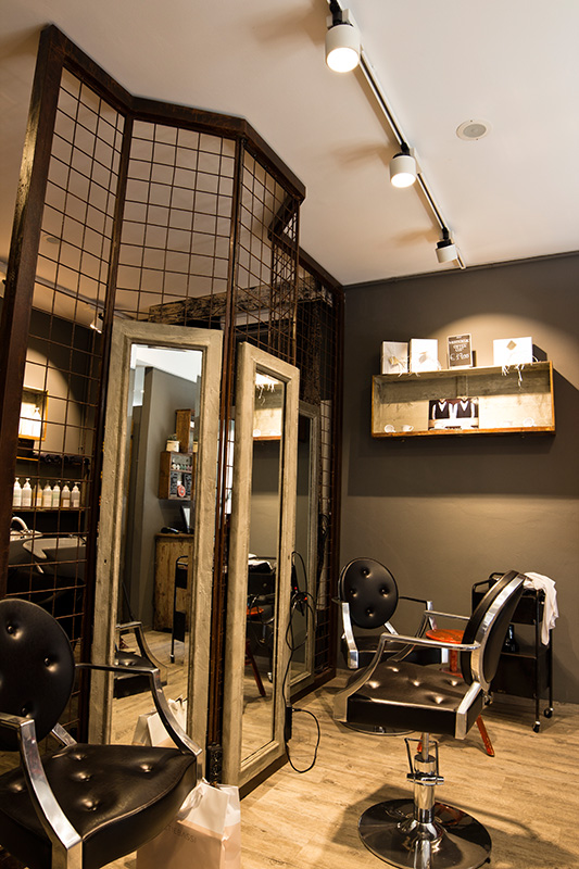 Progetto Illuminotecnico barber shop New Deal-3