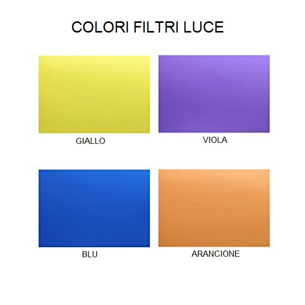 internal filter color lamps, lamps shop Progetto Luce
