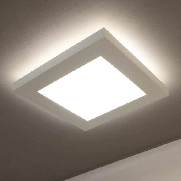 lampada quadra da soffitto, negozio lampadari Progetto Luce