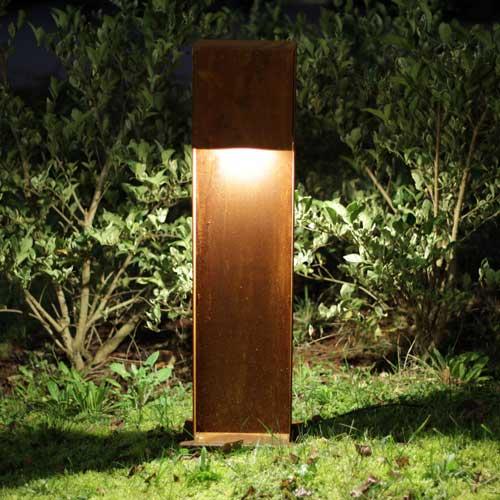 Progetto Luce rust garden lamppost, lamps shop Progetto Luce