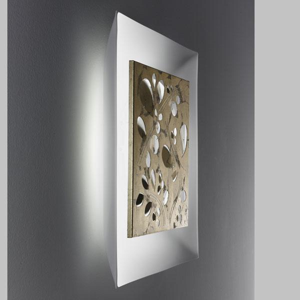 lampada da parete e soffitto leaves, negozio lampadari Progetto Luce