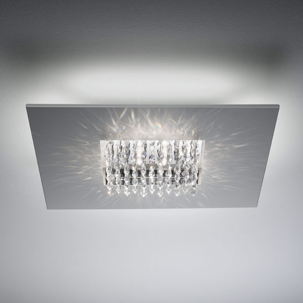 Quinta crystals ceiling lamp