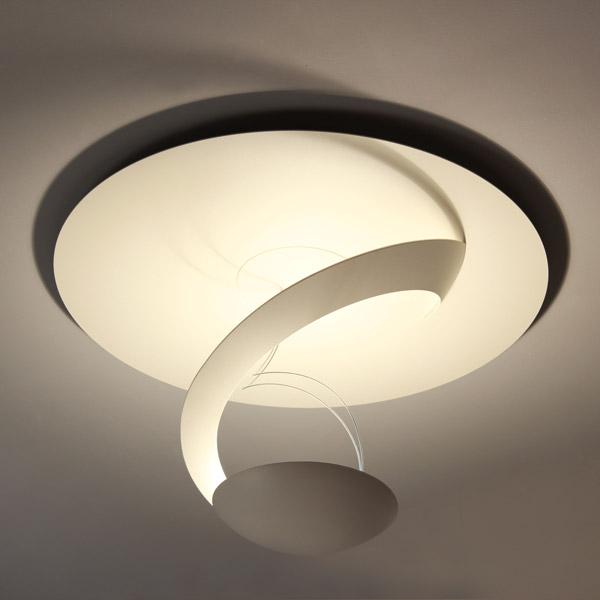 lampada eclipse da soffitto, negozio lampadari Progetto Luce