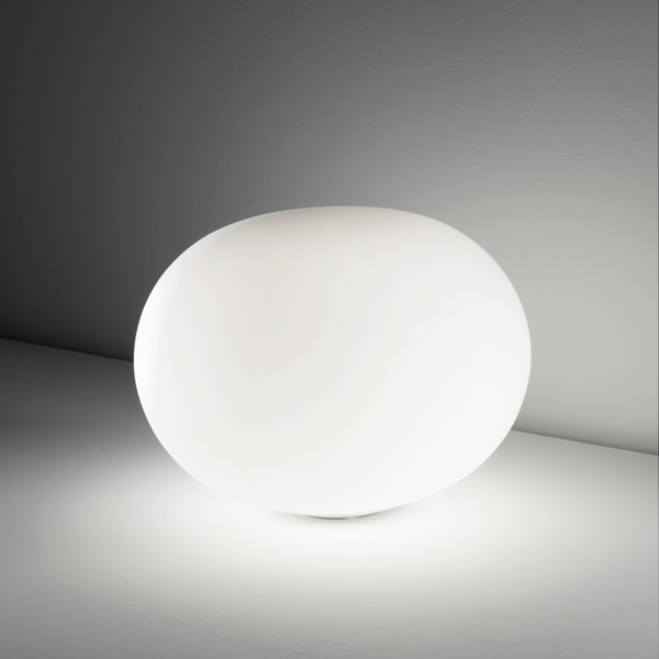 lampada da tavolo bianca, negozio lampadari Progetto Luce