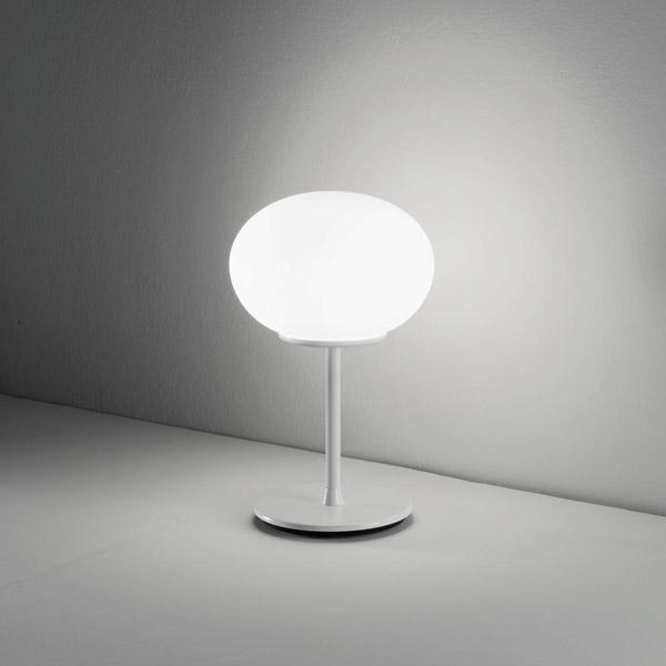 lampada da tavolo globo, negozio lampadari Progetto Luce