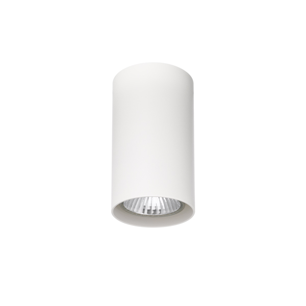 Round tube ceiling lamp