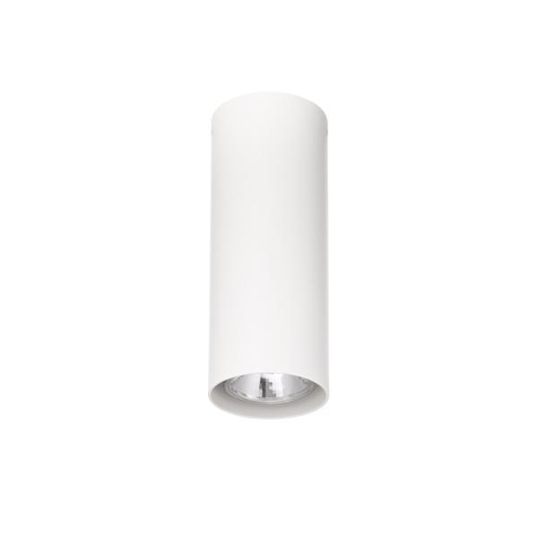 lampada da soffitto tubo tondo 80, negozio lampadari Progetto Luce