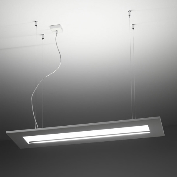 suspension lamp quinta desk 1010, lamps shop Progetto Luce