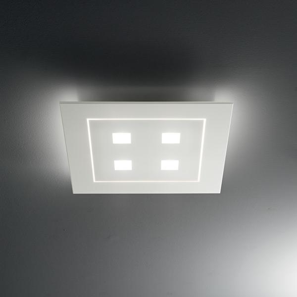 lampada frame 1037 bianco, negozio lampadari Progetto Luce