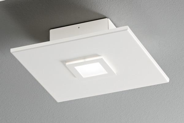 lampada polygon 1047 bianca, negozio lampadari Progetto Luce