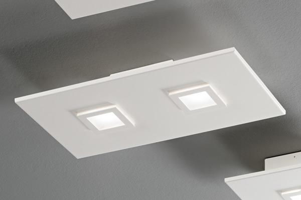 lampada polygon 1048 bianca, negozio lampadari Progetto Luce