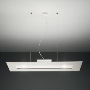 lampada square 1062 bianca, negozio lampadari Progetto Luce