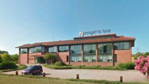 progetto luce a Toscanella di Dozza (Bologna)