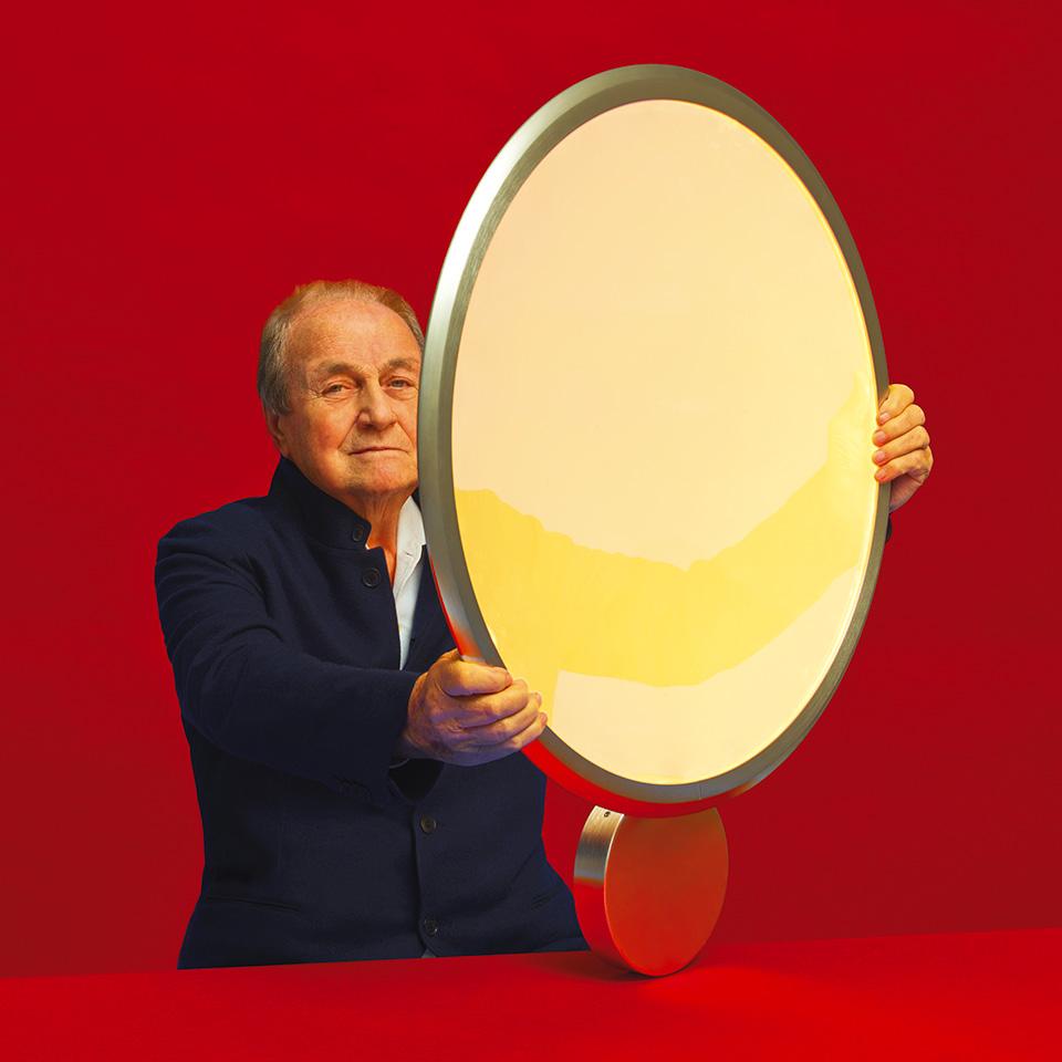 Ernesto Gismondi il padre delle lampade di design