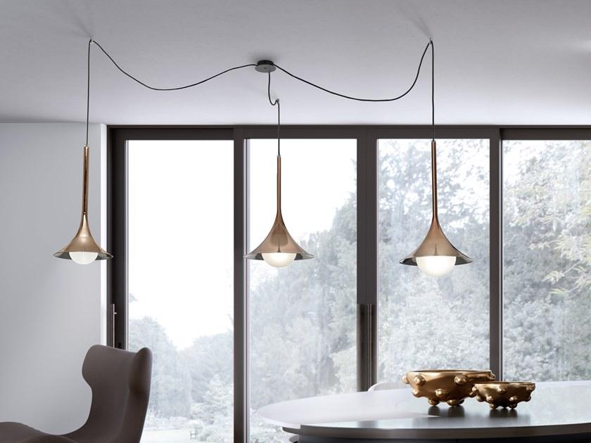 Lady Louis lampada in vetro