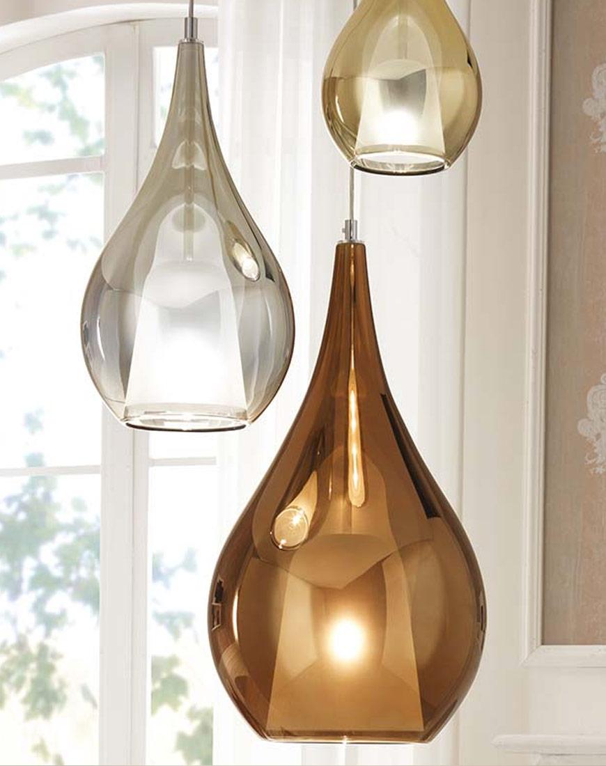 Zoe lampada in vetro
