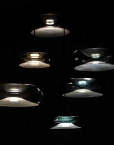 Fold lampada in vetro