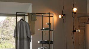 parentesi lampada moderna
